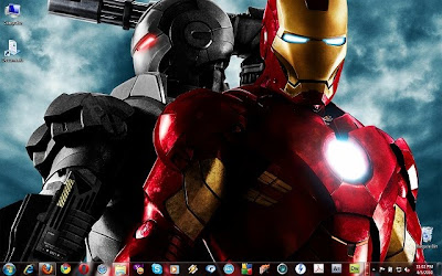 Iron Man Aero Theme For Windows 7