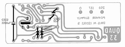 Quad Spot: Power supply voltage in a Quad 33; 12, 15 or
