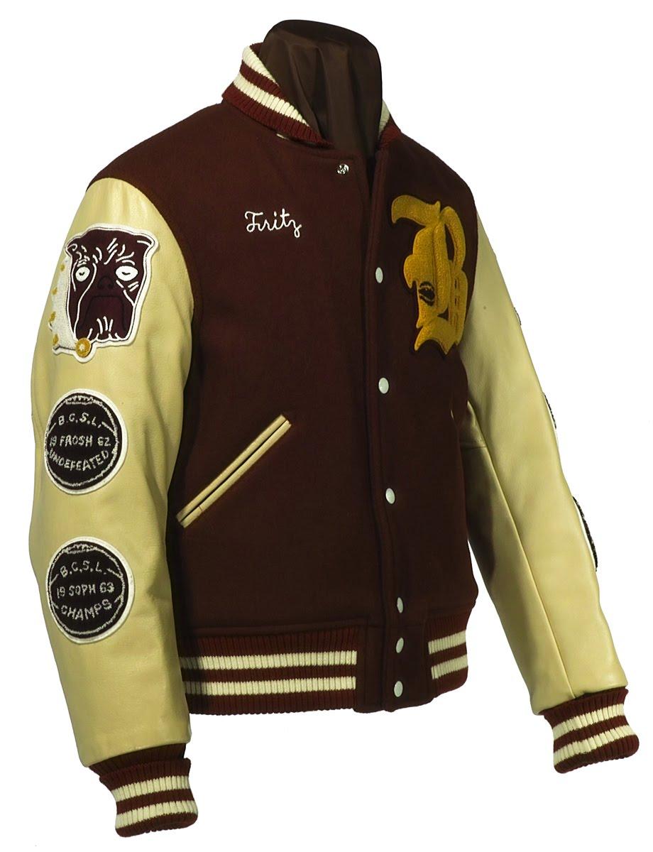 Letterman Jacket Vintage 77