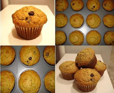 Banana Chocolate Chip Muffins I One Lovely Life