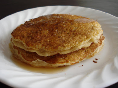 gramma's oatmeal pancakes I One Lovely Life