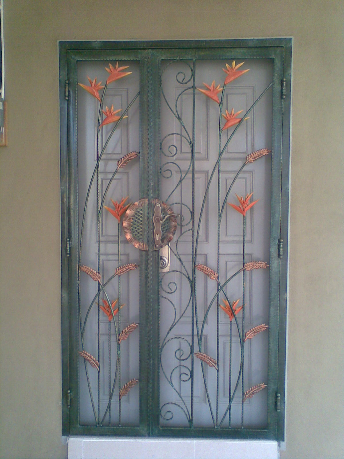 double door main gate design  | Indian Main Door Design