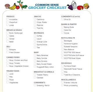 katherine 39 s chronicles grocery list maker