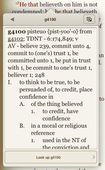 image of BibleReader 5.0 from Olive Tree, via the water is alive...