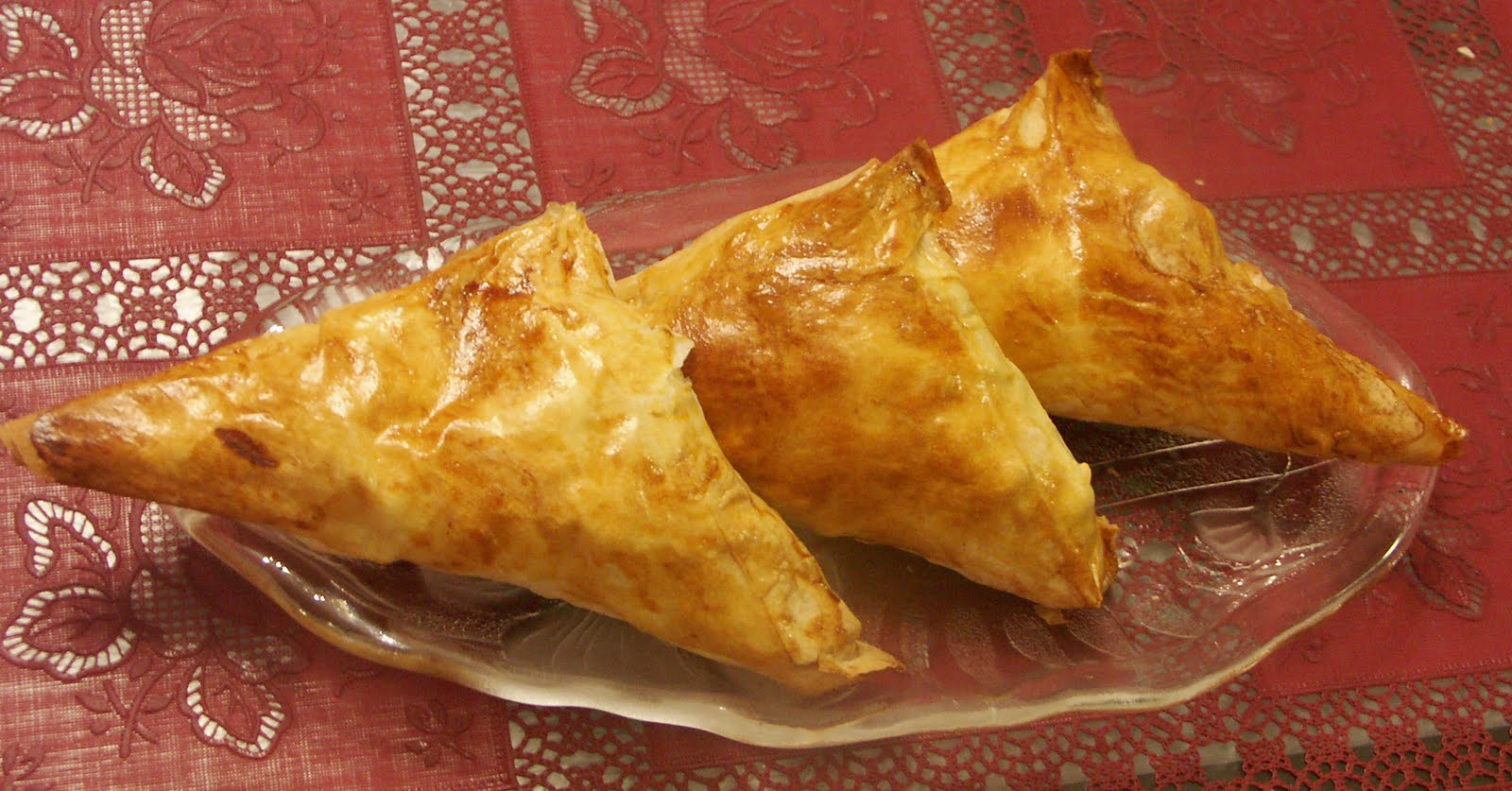 Apple Turnovers Using Phyllo Dough