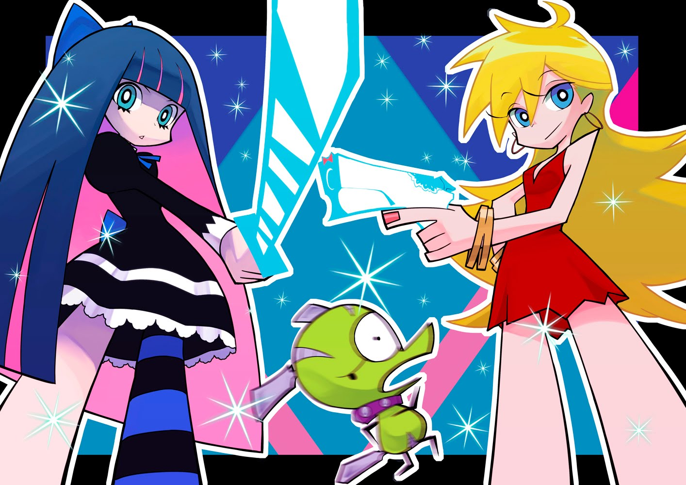 Panty and stocking cartoon