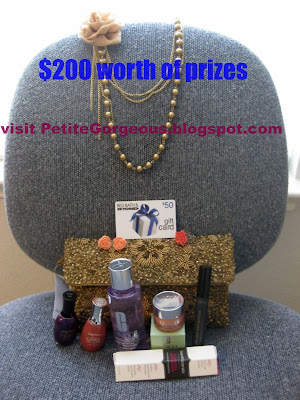 Holiday Giveaway at Petitegorgeous