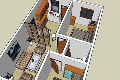 Gambar-Denah-3D-Sketc-Up
