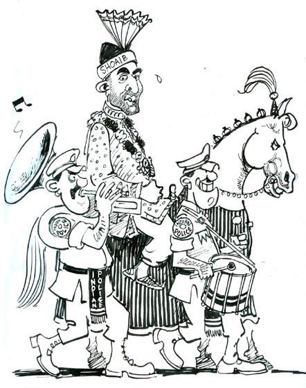 Indian Policeman Cartoon