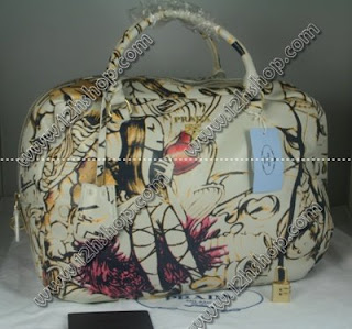 96513574bb wholesale 7star handbags and wallets  prada cream fairy bag