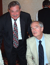 Frank Niro with Chess Grandmaster Walter Browne (Miami 2003)