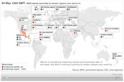 My E Commerce Virus Ah1n1 Flu Who Outbreak Map