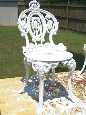 Tools Are For Women Too How To Paint Cast Iron Furniture