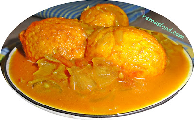 Golden Egg Curry