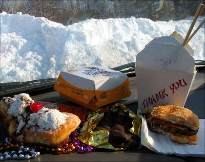 Junkfood on Dashboard