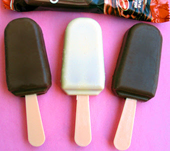 Unwraped Cocoa Deli Popsicles