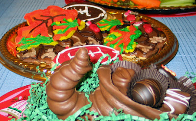 cookies chocolate cornucopia