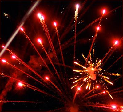Farm fireworks