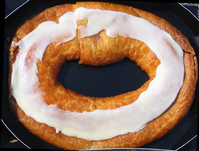 Raspberry kringle