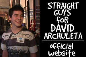 Straight Guys for David Archuleta