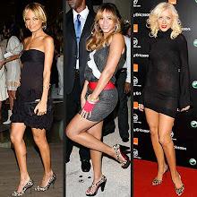 Nicole Richie, Beyoncé, Christina Aguilera