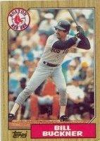 Buckner baseball card