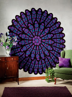 Cathedral Windows Crochet Pattern Crochet Patterns Only