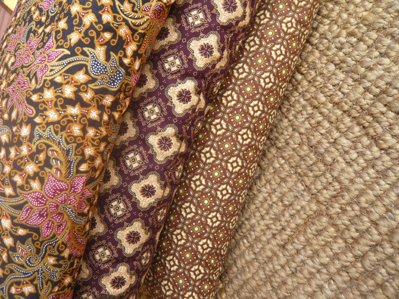batiks indonésiens