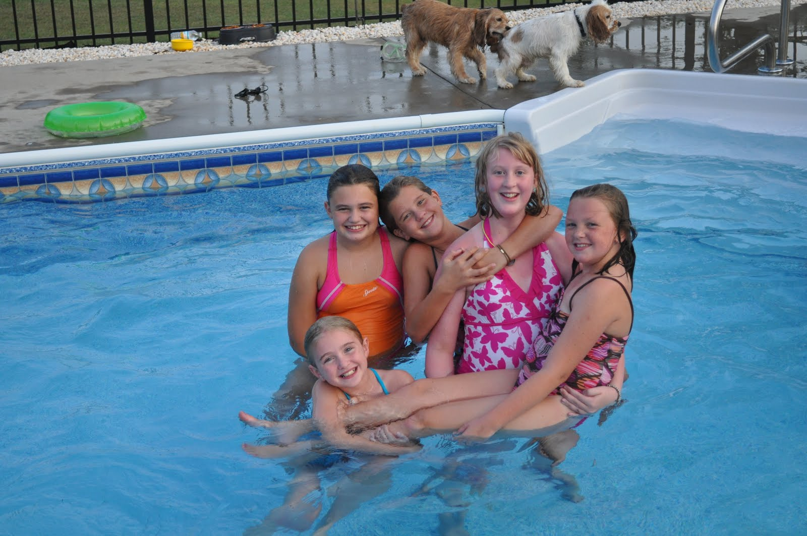 7th Grade Girls Pool Party