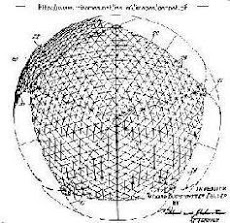Isotropic Geodesic Dome Buckminster Fuller