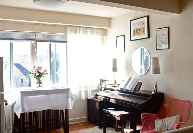 I Mean She Has Managed To Put A Piano In This 475 Square Foot Studio