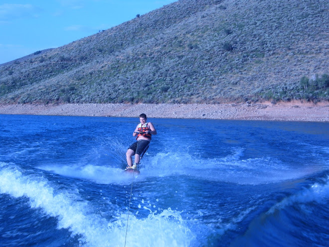 Josh loves to wakeboard!