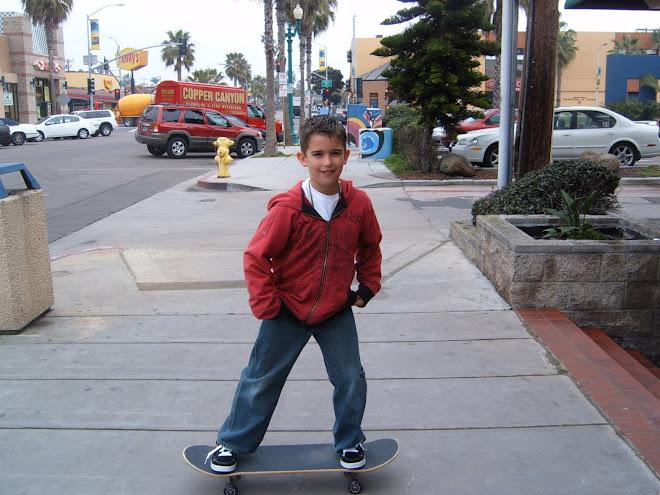 Ryan Skateboarding in San Diego