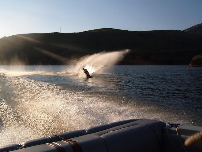 Waterskiing Fun!!! (Ben)