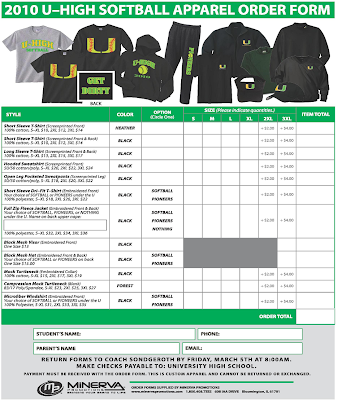 2010+softball+order+form Team Clothing Order Form on excel purchase, for custom, template pivottable excel, template microsoft, template blank,
