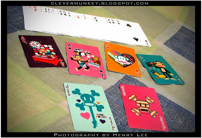 Paul Frank Bedroom In A Box: The Paul Frank Deck Cards! - CleverMunkey