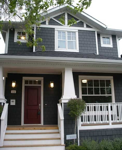 Dream house exterior color paint colors house colors - What color door goes with gray house ...