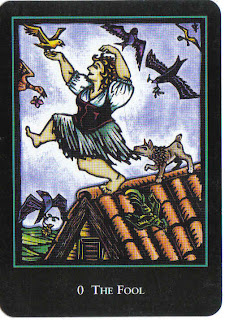 The Fool from the World Spirit Tarot