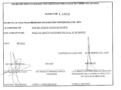 Un periódico que no es de papel: Sí cobraron sueldo médicos de Cruz