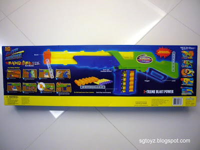 SG Toyz: Buzz Bee Rapid Fire - Review!