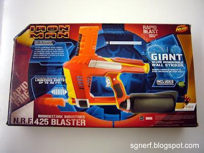 Sg Nerf Iron Man Stark Industries N R F 425 Blaster Review