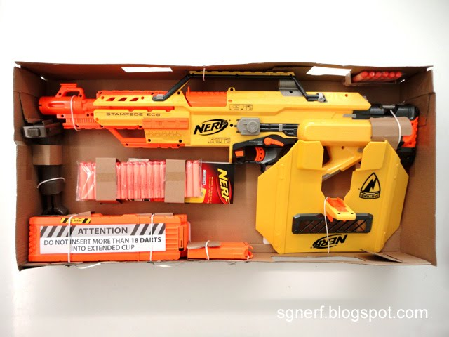 E Nerf Nerf Stampede Ecs Review