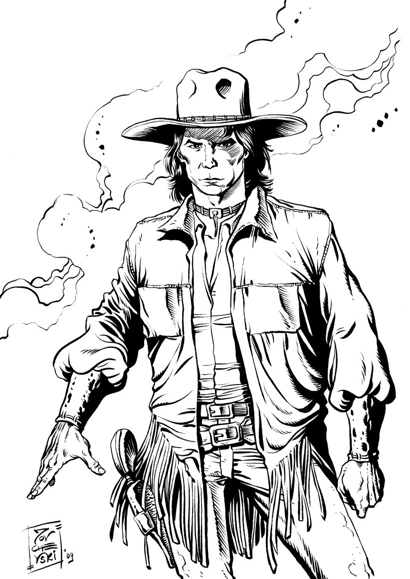 wild wild west coloring pages - photo#34