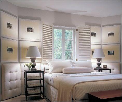 Patricia gray interior design blog white bedrooms for Tom hoch interior designs inc