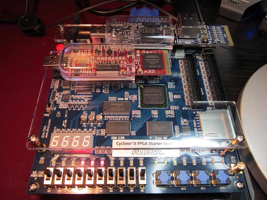 OBrien Labs: Altera Cyclone II, III, IV Development Kits