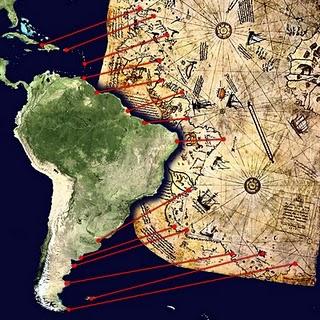 Ufos Misterios O Mapa De Atlantida Do Almirante Turco Piri Reis