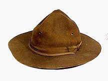 3d56956079d Among a number of 1940s-1950s Scouting items recently donated to the  Unadilla Boy Scout Museum was a Boy Scout Campaign Hat once belonging to  Unadilla ...