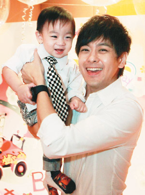 Taiwan Star Press: Jimmy Lin's son first birthday party ...