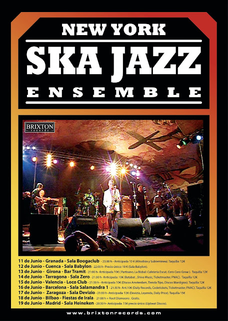 New York Ska-Jazz Ensemble on tour June 2010