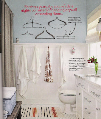 Scandinavian Shabby Chic Bathrooms